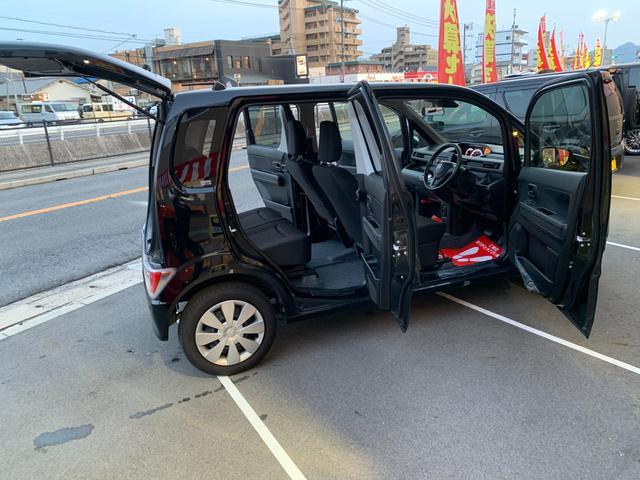 ハイブリッドFX 新品ナビテレビ ブルートゥース対応 新車保証令和5年9月 ハイブリッド 安全ブレーキ キーフリー プッシュスタート オートエアコン オートライト 電動格納ミラー(52枚目)