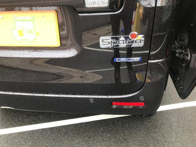 ハイブリッドX 新車保証5年10万キロ サポカー スマートキー 盗難防止システム 禁煙車 クリアランスソナー ベンチシート フルフラット シートヒーター アイドリングストップ(24枚目)