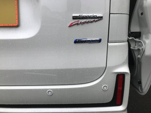 ハイブリッドXS 新車保証5年10万キロ スマートキー 禁煙車 オートライト レーンアシスト LEDヘッドランプ シートヒーター クリアランスソナー エアロ 盗難防止システム(51枚目)