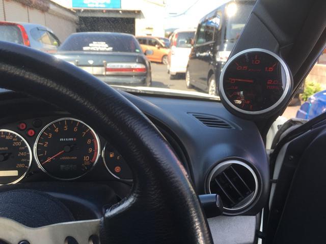 日産 シルビア スペックS 改ターボ ハイカム 車高調 エアロ LSD