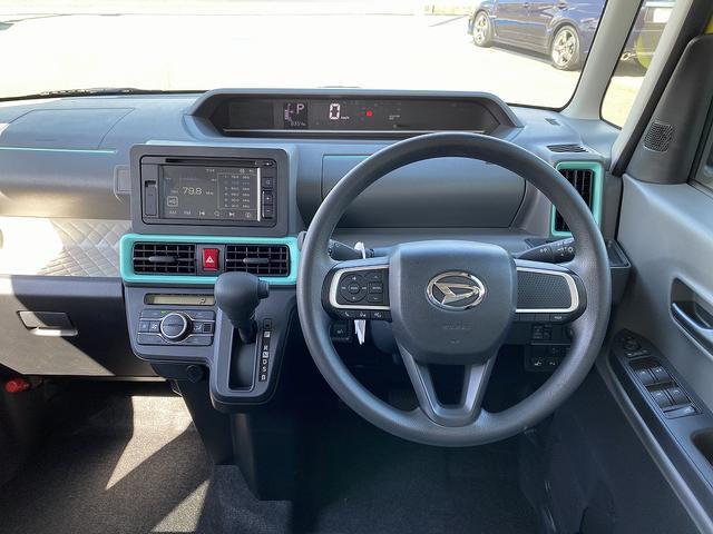 X 4WD!次世代スマアシ!スマートパノラマパーキングP!全方位カメラ!電動スライド!スマートキー!LEDヘッド!前席シートヒーター!Aストップ!DVD再生!USB&AUX付CD!横滑防止!車線逸脱警告!(14枚目)