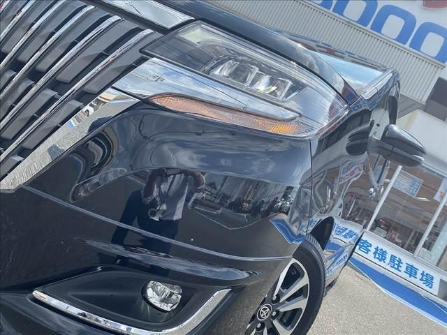 Gi セーフティセンス・モデリスタエアロ・黒革シート・9型フルセグナビ・Bカメラ・両側電動ドア・LEDライト・スマートキー・Pスタート・前席シートヒータ・ソナー・ETC・Bt&SD接続・クルコン・横滑防止(9枚目)