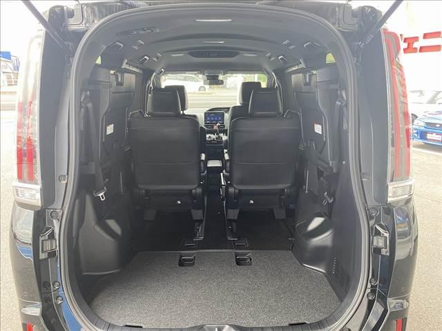 Gi セーフティセンス・モデリスタエアロ・黒革シート・9型フルセグナビ・Bカメラ・両側電動ドア・LEDライト・スマートキー・Pスタート・前席シートヒータ・ソナー・ETC・Bt&SD接続・クルコン・横滑防止(25枚目)