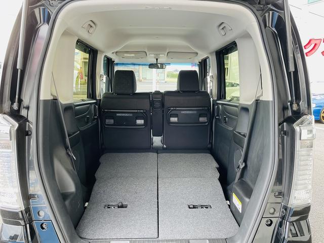 G SSブラックスタイルパッケージ 専用ブラックアルミ&グリル 両側パワースライドドア シートヒーター スマートキー プッシュスタート ステアリモコン ビルトインETC HID オートライト フォグ(16枚目)