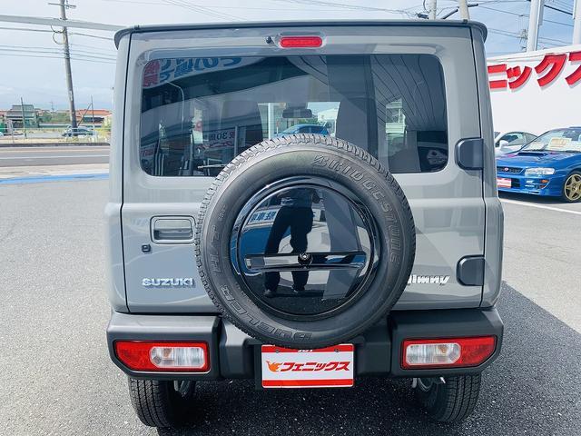 XC 届出済未使用車・4WD・4AT・衝突軽減ブレーキ・ターボ・スマートキー・Pスタート・LEDライト・前席シートヒータ・クルコン・ウィンカーM・オートミラー・背面タイヤ・専用16AW・オートハイビーム(6枚目)