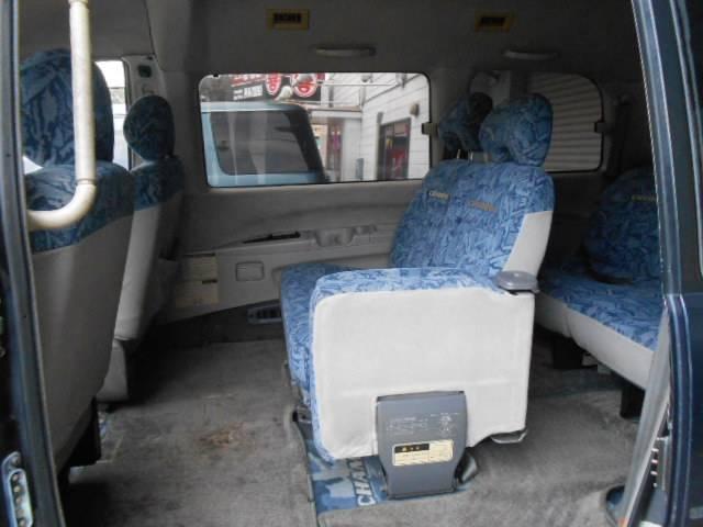 シャモニー 4WD ディーゼルターボ ETC 7人乗り(11枚目)