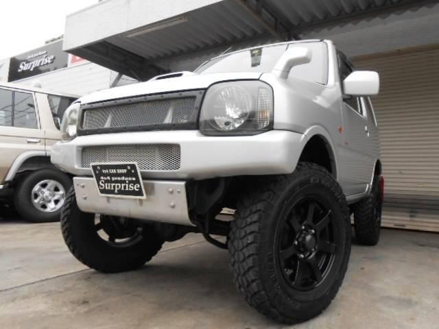 スズキ ジムニー XC ターボ 4WD ナビ HID ETC