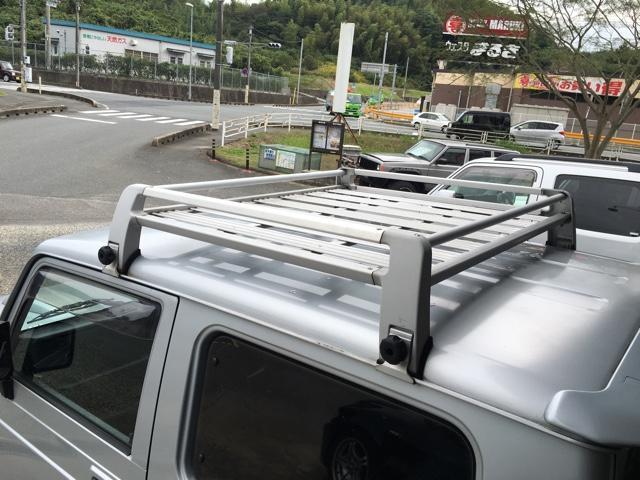 スズキ ジムニー ランドベンチャー 4WD ターボ 5速MT ルーフキャリア