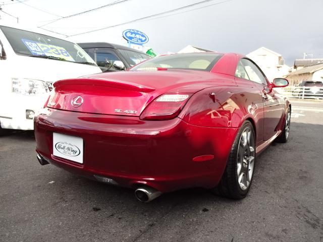 SC430 電動オープン ナビ レザーシート 車高調(18枚目)