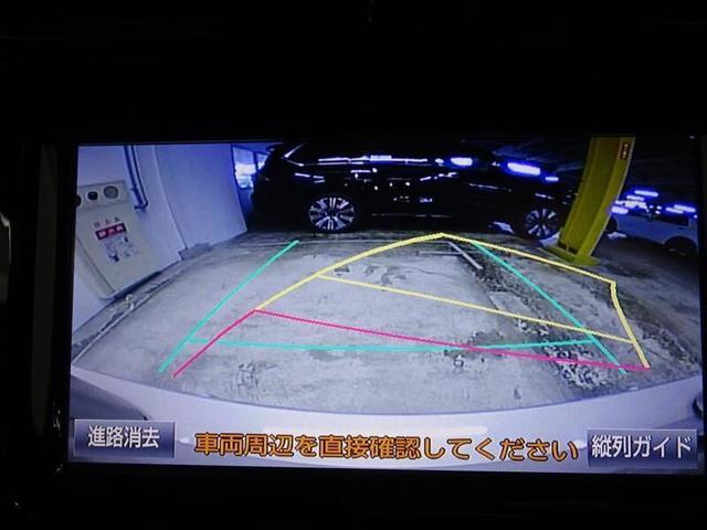 バックガイドモニターで苦手な車庫入れも安心。