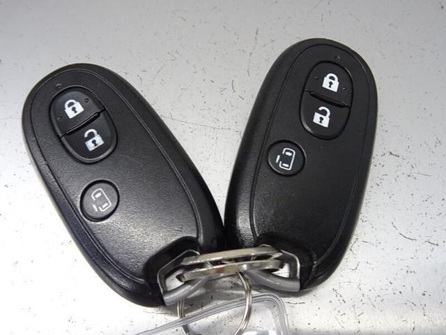 キーはポケットの中で、ドアのロック&アンロックができます。