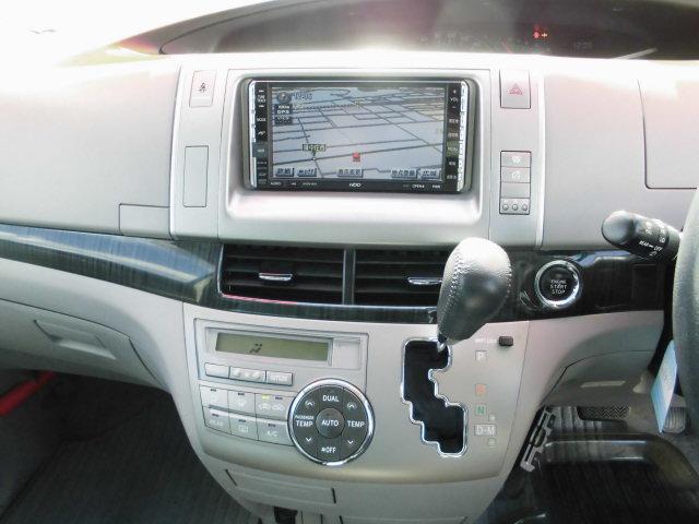 トヨタ エスティマ アエラス HDDナビ 両側Pドア JAAI認定査定士検査済