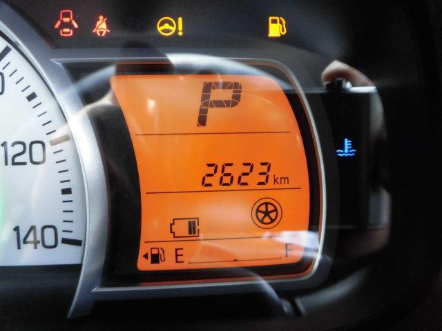 走行距離です(^^♪平均燃費・瞬間燃費なども表示可能な多機能メーターです☆