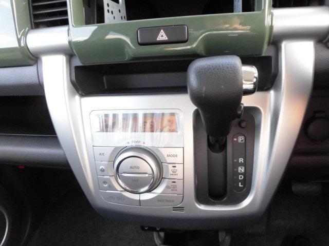 インパネシフトで足元広々!!&フルオートエアコンで快適なドライブをお楽しみいただけます♪