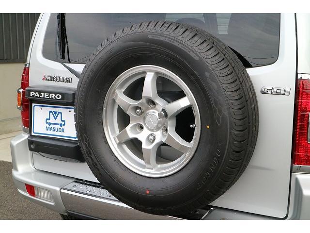 三菱 パジェロ エクシード サンルーフ 背面タイヤ ワンオーナー