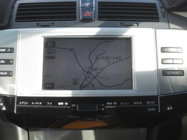トヨタ マークX 300G 純正ナビ HID パワーシート Bカメラ