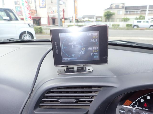 ベースグレード 後期モデル 電動オープン TEIN電子制御車高調 社外マフラー タコ足(18枚目)