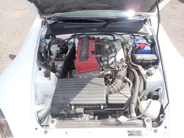 ベースグレード 後期モデル 電動オープン TEIN電子制御車高調 社外マフラー タコ足(22枚目)