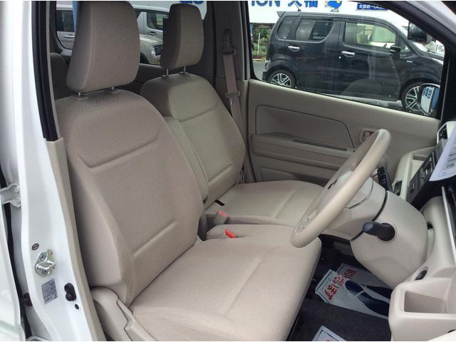 運転席、助手席もゆったり!