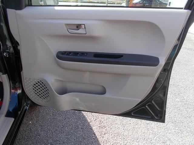 運転席ドア内張りの様子
