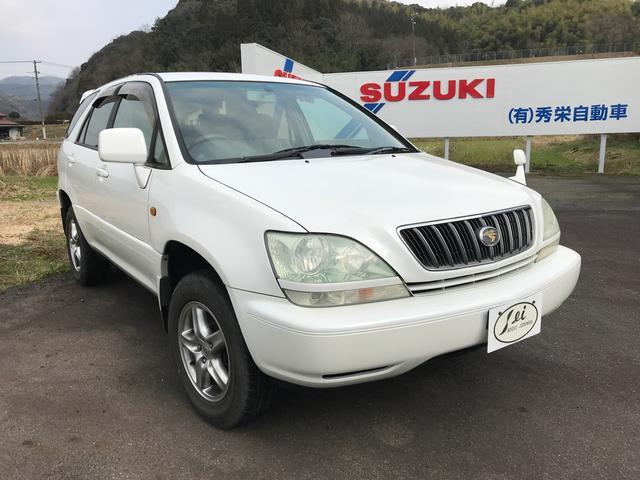 「トヨタ」「ハリアー」「SUV・クロカン」「鳥取県」の中古車2