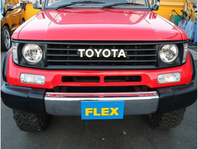 トヨタ ランドクルーザープラド SX 寒冷地仕様 ATタイヤ 2インチUP