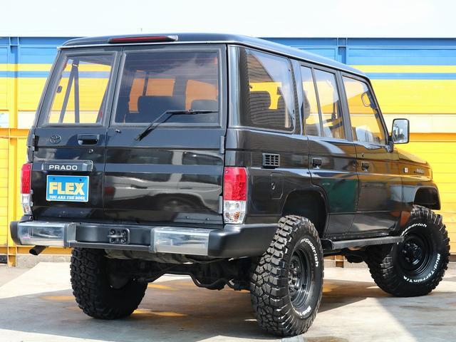 トヨタ ランドクルーザープラド 2インチリフトUP 新品外装パーツ取付済 貨物登録可能
