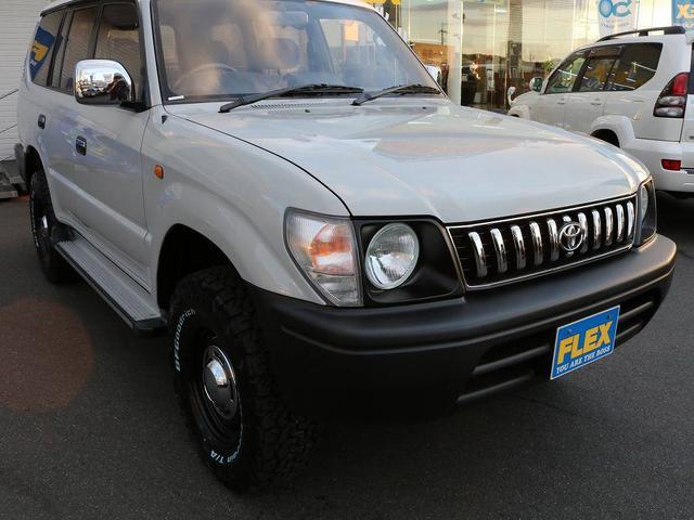 トヨタ ランドクルーザープラド TX 新品タイヤホイール 貨物登録可能