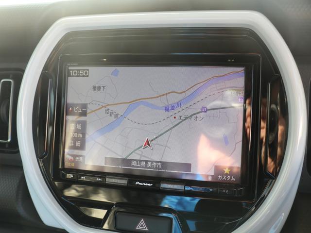 ハイブリッドX 8インチナビゲーション バックモニター LEDヘッドランプ オートライト スズキセーフティサポート ドアバイザー・フロアマット・ナンバープレートリム付(6枚目)