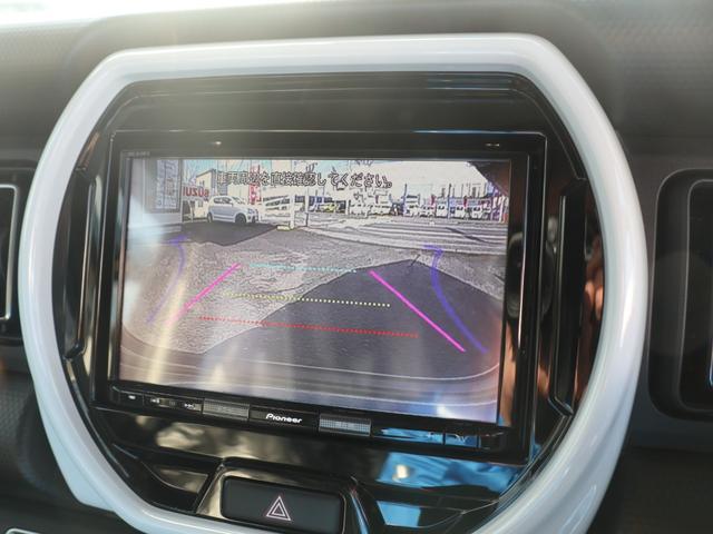 ハイブリッドX 8インチナビゲーション バックモニター LEDヘッドランプ オートライト スズキセーフティサポート ドアバイザー・フロアマット・ナンバープレートリム付(8枚目)
