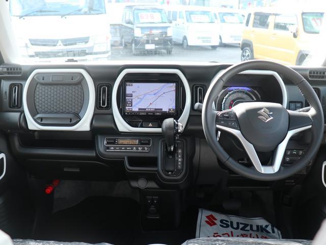 ハイブリッドX 8インチナビゲーション バックモニター LEDヘッドランプ オートライト スズキセーフティサポート ドアバイザー・フロアマット・ナンバープレートリム付(16枚目)