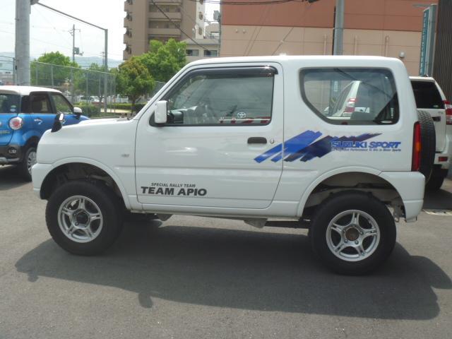 スズキ ジムニー XG リフトUP 5MT ETC 背面タイヤ ターボ 4WD