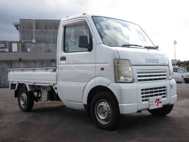 KU エアコン パワステ 5MT 2WD 三方開 軽トラ(3枚目)