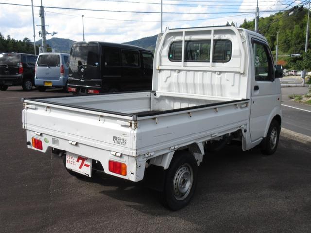 KU エアコン パワステ 5MT 2WD 三方開 軽トラ(4枚目)