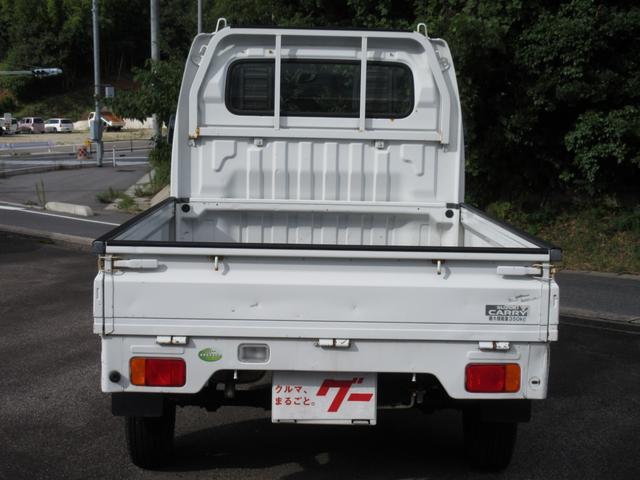 KU エアコン パワステ 5MT 2WD 三方開 軽トラ(5枚目)