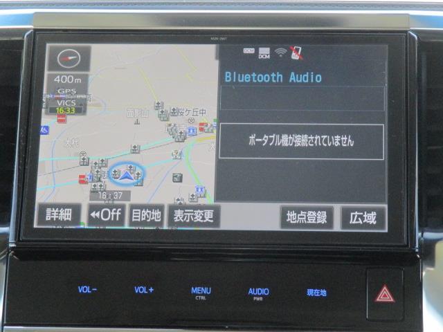 2.5S フルセグ メモリーナビ DVD再生 後席モニター バックカメラ 衝突被害軽減システム ETC 両側電動スライド LEDヘッドランプ 乗車定員8人 3列シート 記録簿(10枚目)