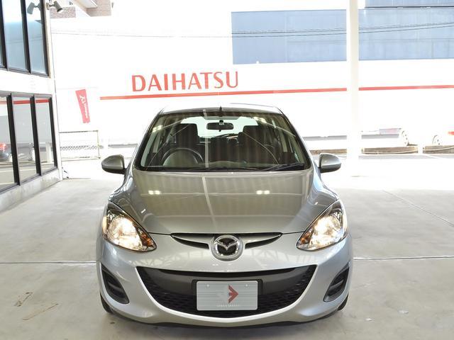 マツダ デミオ 13C e-4WD ETC センターデフロック CDラジオ