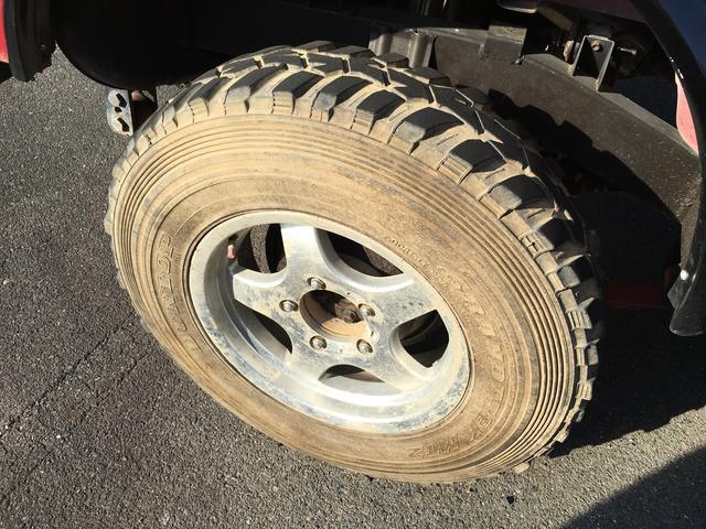スズキ ジムニー 新品タイヤ交換 リフトアップ 社外マフラー
