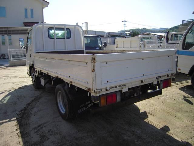 いすゞ エルフトラック 2トン積フルフラットロー