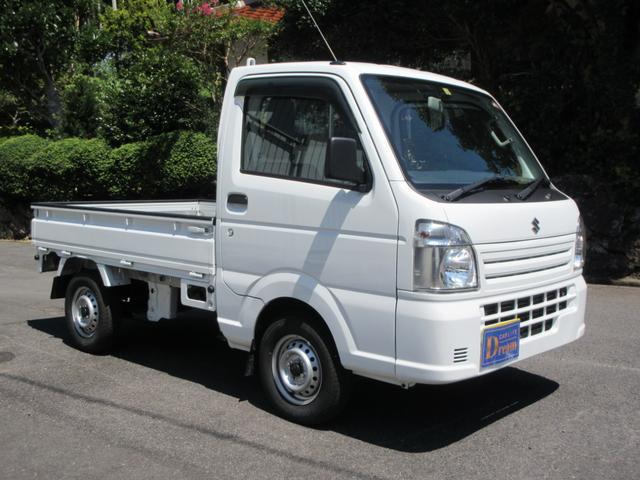 KCエアコン・パワステ 4WD 5速MT エアコン パワステ ラジオ 荷台マット(3枚目)