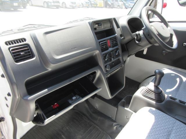 KCエアコン・パワステ 4WD 5速MT エアコン パワステ ラジオ 荷台マット(17枚目)