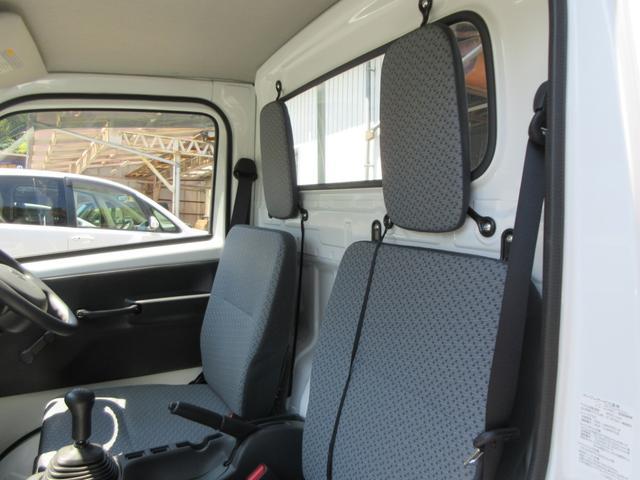 KCエアコン・パワステ 4WD 5速MT エアコン パワステ ラジオ 荷台マット(18枚目)