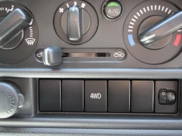 KCエアコン・パワステ 4WD 5速MT エアコン パワステ ラジオ 荷台マット(26枚目)