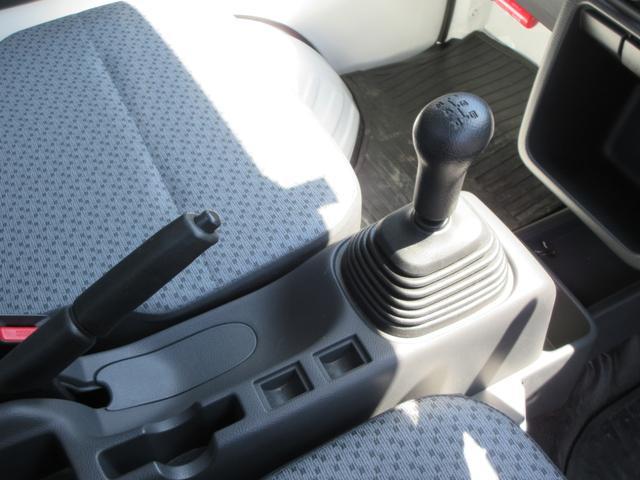 KCエアコン・パワステ 4WD 5速MT エアコン パワステ ラジオ 荷台マット(27枚目)