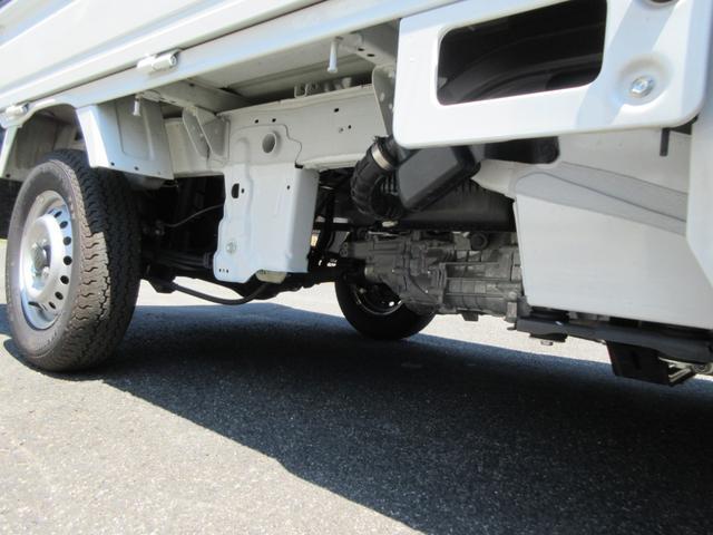 KCエアコン・パワステ 4WD 5速MT エアコン パワステ ラジオ 荷台マット(31枚目)