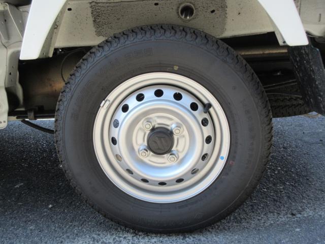 KCエアコン・パワステ 4WD 5速MT エアコン パワステ ラジオ 荷台マット(34枚目)