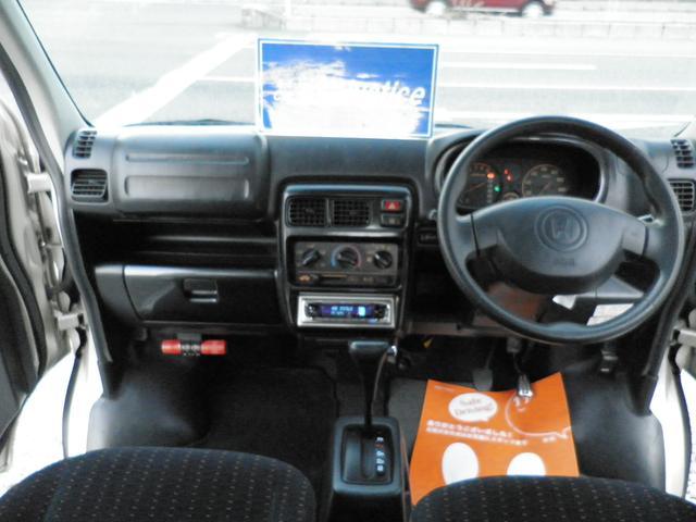 ホンダ バモス ターボ 4WD Tベルト交換済み ルーフキャリア キーレス