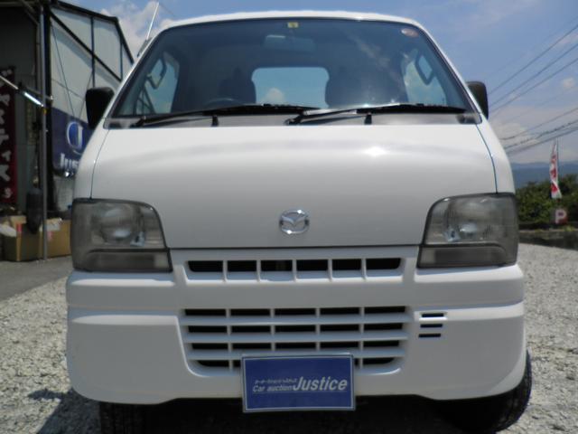 マツダ スクラムトラック KU ディーラー車 3方開 エアコン Tチェーン式