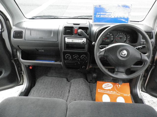 マツダ AZワゴン FM-G キーレス ディーラー車 電動格納ミラーベンチシート