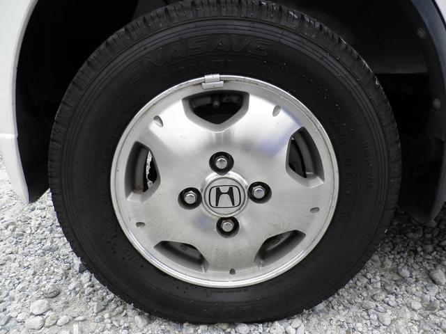 ホンダ バモス 4WD Tベルト交換済 鏡面磨き済 ウッドパネルアルミホイル